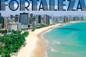 Hotels und Apartments in Fortaleza/Brasilien