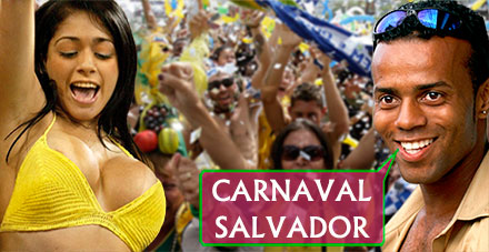 Here you will find your carnival / room for the carnival in Salvador da Bahia / Brazil