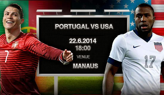 Portugal vs. USA World Cup 2014
